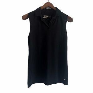 Nike Golf Sleeveless Dri-fit Polo Size Medium